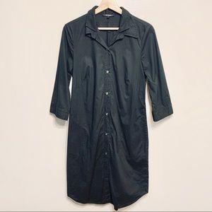 KAL RIEMAN Double Collard Shirt Dress